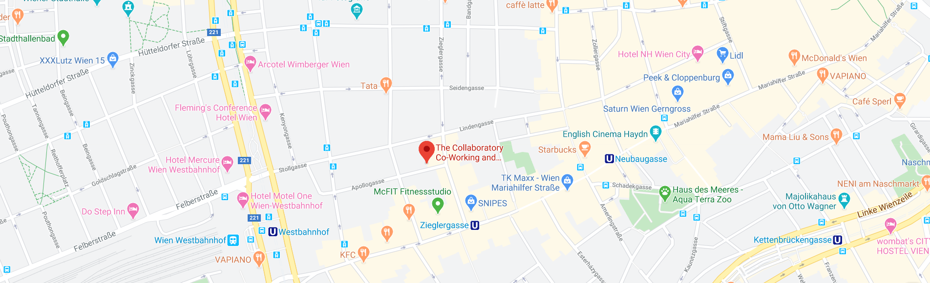The Collaboratory on Google Maps